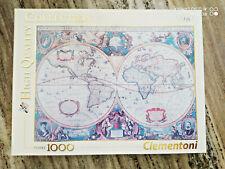 Puzzle 1000 Old Map, Clementoni