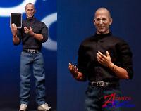 1/6 Scale Iceo Custom Steve Jobs action Figure w desktop notebook mobile set