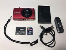 Canon PowerShot A3400 IS HD PC1737 16MP Digital Camera + 16GB SD Memory Card