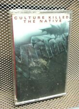 VICTORY Culture Killed the Native 1989 cassette tape NWT Never Satisfied