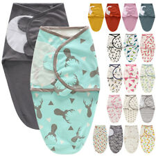 Baby Swaddle Wrap Blanket Sleep Newborn Infant 3-6 Months Swaddling Sleeping Bag