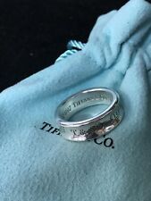 be94fe810 Tiffany & Co. Sterling Silver 1837 Collection Band Ring