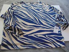 NEW with TAGS!! CHAPS PETITES WOMEN'S 3/4 SLEEVE X-LARGE $50.00 retail