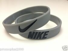 Nike Sport Baller Band Grey w/Black Silicone Wristband Buy 3 get 2 Free or Buy 2