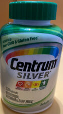 CENTRUM SILVER 50+ Multivitamin 220 tablets FOR ADULTS OVER 50 EXP 03/2021