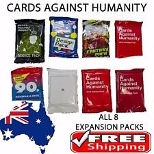 Cards Against Humanity - 8 x Expansion Set Original Booster Expansion Packs
