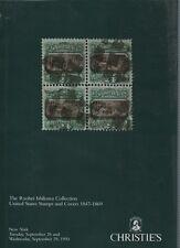 Christies subasta catalogo-Ishikawa Colección de sellos de Estados Unidos y cubiertas 1847-69