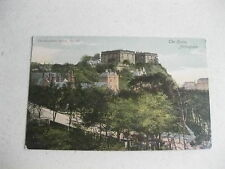 THE CASTLE NOTTINGHAM 1930,S POSTCARD UNPOSTED RARE ITEM GOOD CONDITION