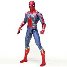 Top Sale Spider Man Series Spider-Man Action Figure PVC Toy Hero Classic 18CM