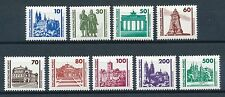 Postfrische Briefmarken der DDR (1949-1990) als Satz mit Bauwerks-Motiv