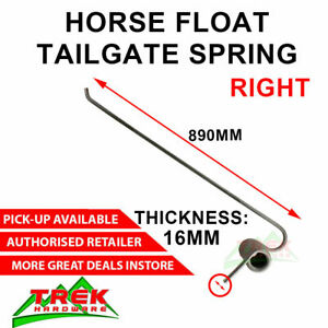 horse float trailer tail gate tailgate ramp door assist spring right 16MM