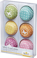 108 Mini Muffinförmchen Cupcake Papierförmchen Muffin 6 Farben Birkmann