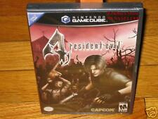 Original Resident Evil 4 IV GameCube GC NEW Excellent Collectors Condition