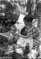 Photo Art Artiste anonyme Déco NB - Portrait jeune mère et son enfant
