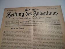 1903 judíos en Crone metz Saarburg