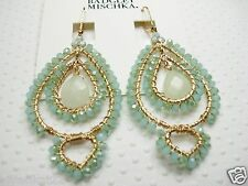 Belle by Badgley Mischka Austrian Crystal Pacific Opal AB Color wrapped earrings