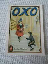"""ADVERTISING  MUMBLES RAILWAY POSTCARD MRP/221 """" OXO THE CUP OF KINDNESS""""."""