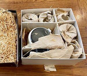 NEW BUT VINTAGE  Japanese Tea Set, 5 Cups Teapot Unused Porcelain