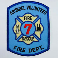 Arundel Volunteer Fire Department Station 7 Maryland Patch (C3-B)