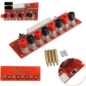 1pcs 24 pins atx benchtop bordcomputer pc netzteil breakout adapter modul