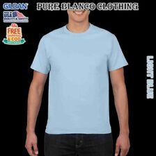 Sale Gildan Light Blue Adult Roundneck Shirt Plain Shirt Blank Shirt