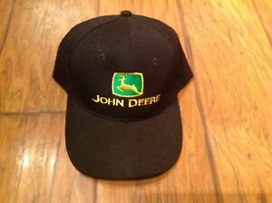 Men's JOHN DEERE Baseball Cap (black/green/yellow) NWOT