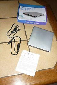 USB3.0 externer DVD-Brenner Blu-ray-Player Für Laptop Mobiler PC und kompatible