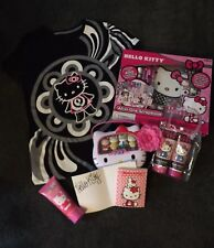 Lot Of Hello kitty Mac Tshirt Lotion Scrapbooking Pez Autograph