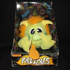 RAZZCALS MATCHBOX THUNDER My Pet Monster Plush Toy Doll 1986 Rare Vintage USED