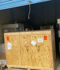 """Large Wooden Shipping Crate Wood Plywood Container - 73"""" X 46"""" X 58"""""""