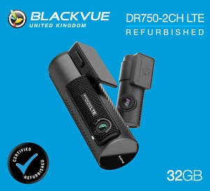 BlackVue Dash Cam DR750-2CH LTE Front and Rear Wi-Fi GPS (32GB) - REFURB