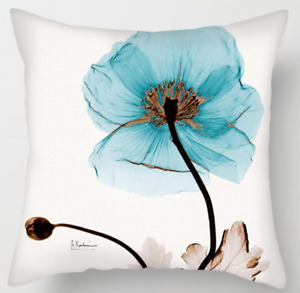 Pillow Case Style Flowers Pattern Pillowcase Flowers Have Color Blue Sky Pilows