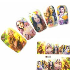 UNGHIE STICKER ADESIVO GIAPPONE MANGA GIRL NAIL ART UNGHIE PIEDI Water Decal