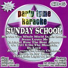 Party Tyme Karaoke - Sunday School 8+8-song CD+G