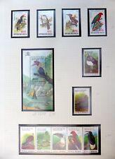 INDONESIA Birds Sets & M/Sheet U/M NB3308
