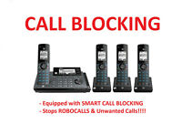 AT&T CLP99487 4 Handset Connect to Cell Phone System with SMART CALL BLOCKER
