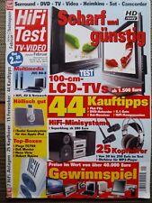 HIFI TEST 1/07 VELODYNE XV 10,JVC HD 56ZR7,NUBERT NULINE 100,SHURE E4c,JVC DD 8