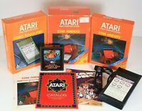Star Raiders Atari 2600 1982 CIB Complete With Comic, Box, Manual and Touch Pad
