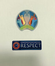 UEFA Euro 2020 & Respect Badge Patch Germany France Belgium Italy Spain Sweden