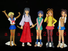 Love Hina leal Girl Girl figure gashapon set (full set of 5 figures)