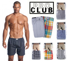 PROCLUB PRO CLUB MENS BOXERS CASUAL UNDERWEAR ACTIVE BOXER TRUNKS UNDERSHORTS