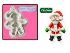 Katy Sue Designs Father Christmas Sugar Buttons Mould    FAST DESPATCH