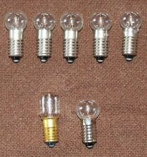 5 New C6 longshank 15V/5W replacement bulbs for Christmas Bubble Lights