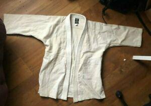 Ki Aikido Gi Uniform Unbleached Cotton Yamoto Sakura, jacket, pants BARELY WORN!
