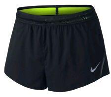 Nike Men's Running Racing Shorts Black AeroSwift Sz Xxl Msrp $80