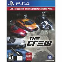 The Crew: Limited Edition Special Cars (Sony PlayStation 4, 2014) *OPENED*