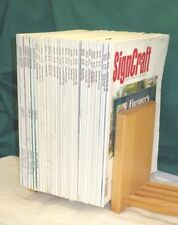 Vintage Signcraft Magazines Collection Issues 107 - 169 - Sold in lots of 5