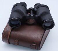 Original U.S. WWII M13A1 6x30 Binoculars with M17 Leather Case