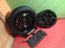 2016 2017 2018 CHEVY BOLT  COMPACT MINI DONUT SPARE TIRE WITH JACK KIT