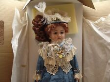 THE WALKURE VICTORIAN HEIRLOOM HONEYMOON DOLL FOR THE FRANKLIN MINT *RARE*NIB *